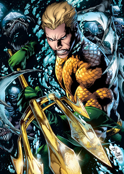 Aquaman vs The Trench