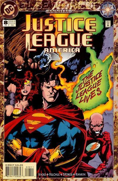 Justice League America Annual #8