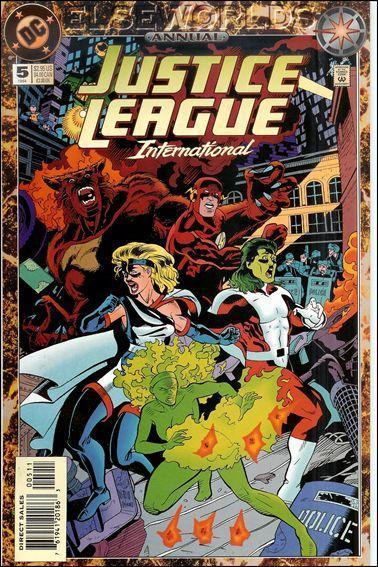Justice League International Annual #5