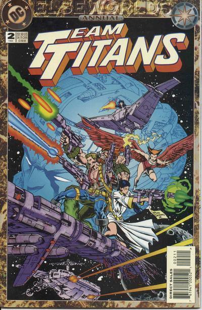 Team Titans Annual #2