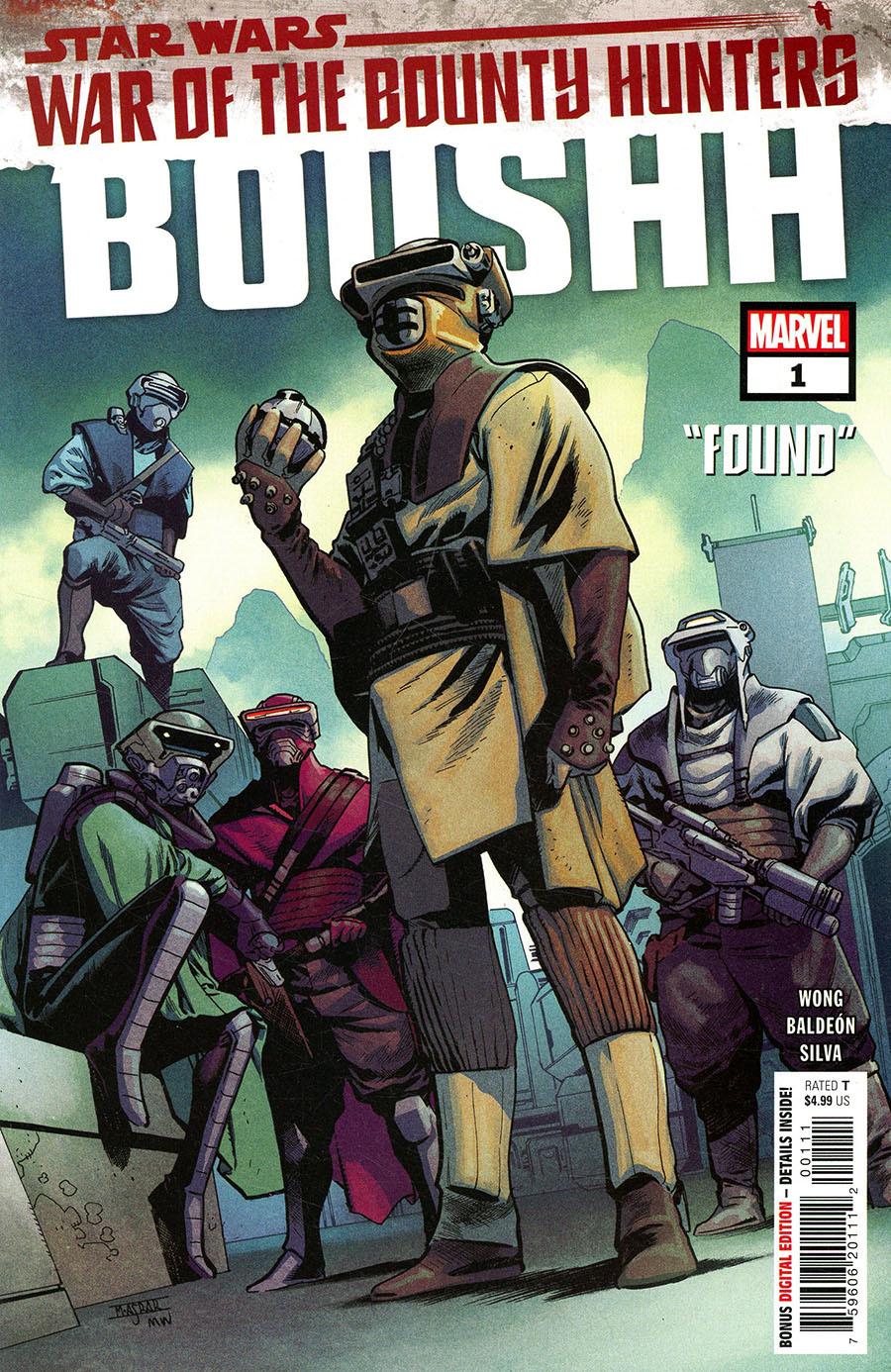 Star Wars: War of the Bounty Hunters: Boushh