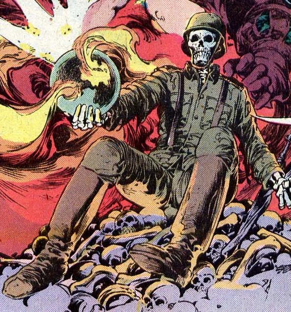 Death in Weird War Tales.
