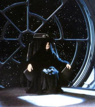 The Emperor in Return of the Jedi