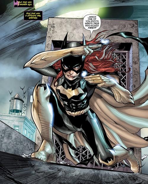 Batgirl Abilities