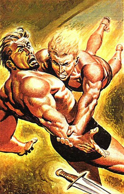 Trigo fighting Klud
