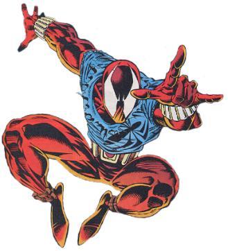 Scarlet Spider-man suit