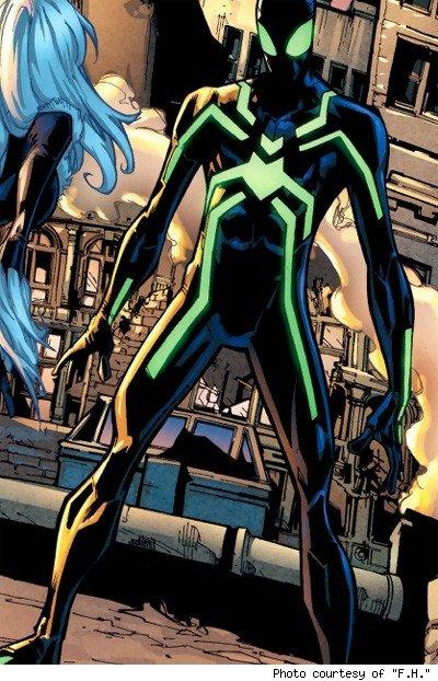 Spidey's stealth costume