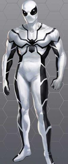 Spidey's costume upon joining The Future Foundation