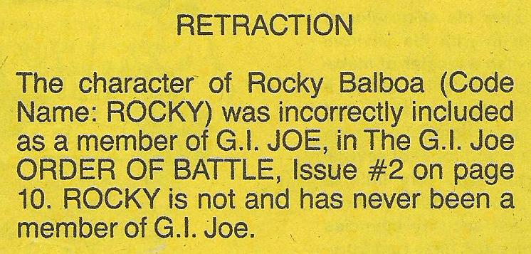 Marvel actually ran this blurb right smack in the middle of an empty page, but I figured you probably wouldn't want to look at all of that empty yellow space.