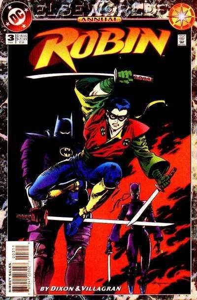TPB Cover: Robin Annual #3