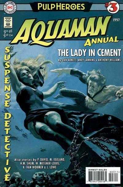TPB Cover: Aquaman Annual #3
