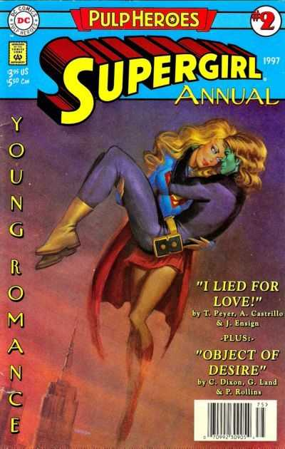 TPB Cover: Supergirl Annual #2