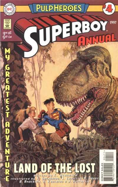TPB Cover: Superboy Annual #4