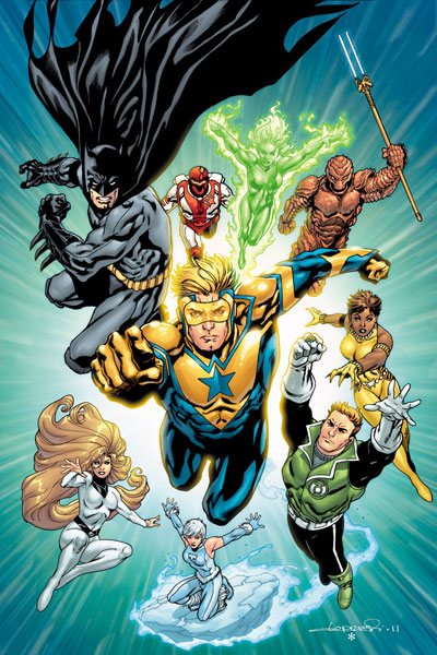 Booster leads the JLI