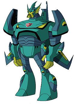 Transformers: Animated design sketch