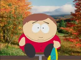 Cartman without his hat