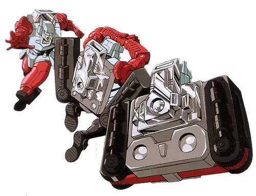 Hi-Q transforming into Optimus Primes engine