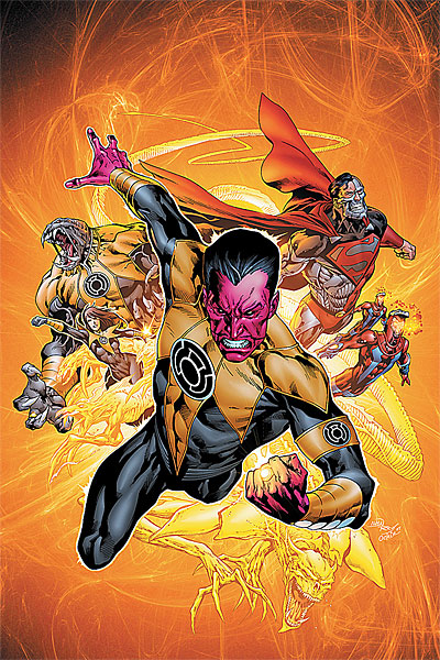 Hank and the Sinestro Corps