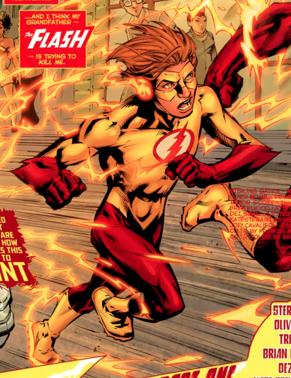 Bart as Kid Flash