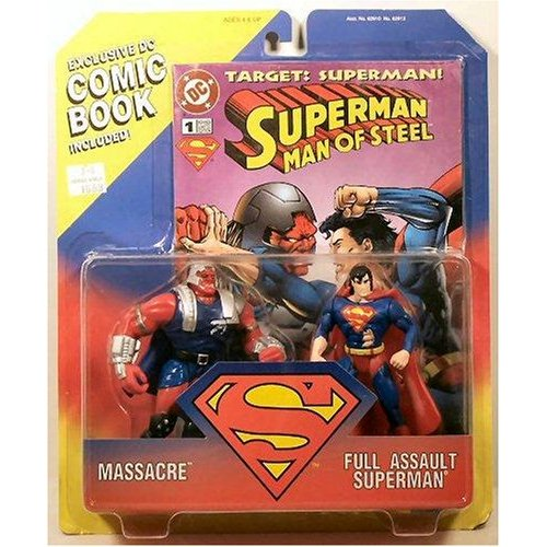 Set of two action figures with exclusive comic included.