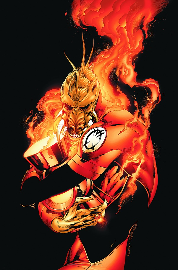 Larfleeze, Owner of the Orange Lantern Corps