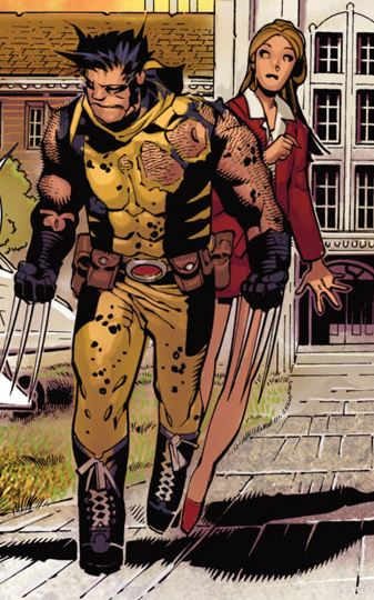 Wolverine returned to the Xavier estate to start his own school.