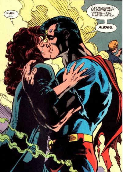 Kiss in Superman (1987) #75