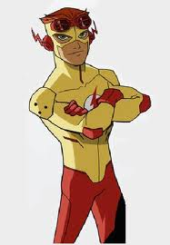 Wally West as Kid Flash in Young Justice