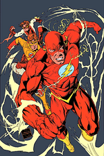Evolution of Bart Allen from Impulse to The Flash