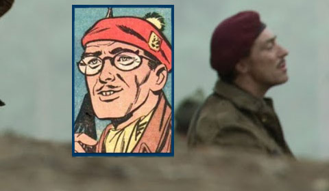 Percy in the movies and his comic-book counterpart