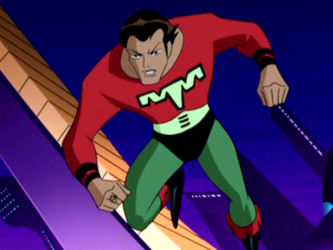 Ultra Boy in the Justice League Unlimited