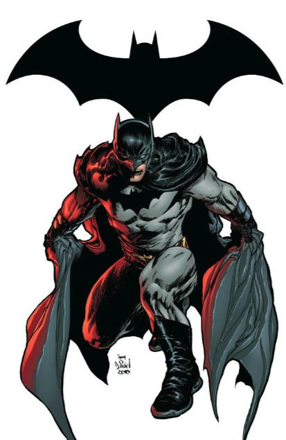 Dick as Batman