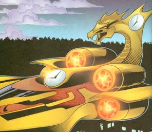 Hourman's redesigned Timeship