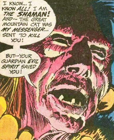 The evil shaman