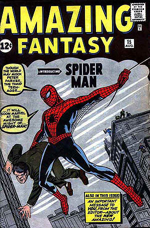 Spidey's First Appearance