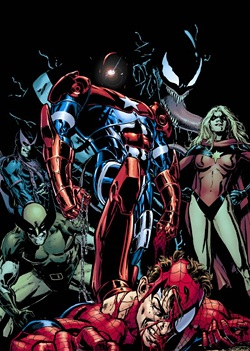 Spidey Faces The Dark Avengers