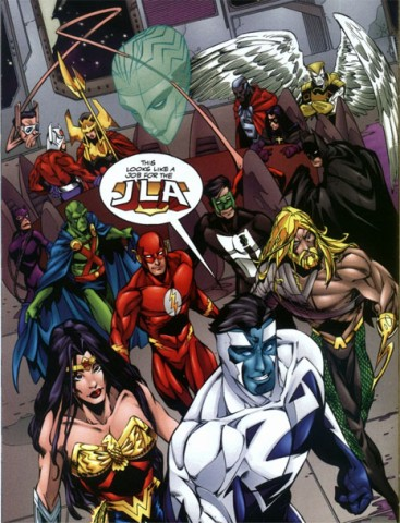 Orion With The JLA