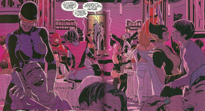 Cage dancer Magneto!