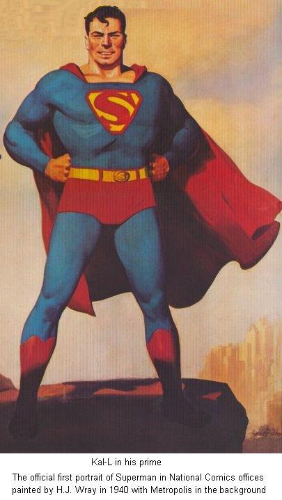 Kal-L: The Golden Age Superman