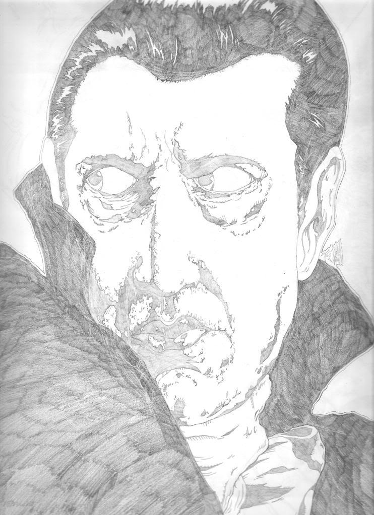 Dracula(Bela Lugosi) Pencils