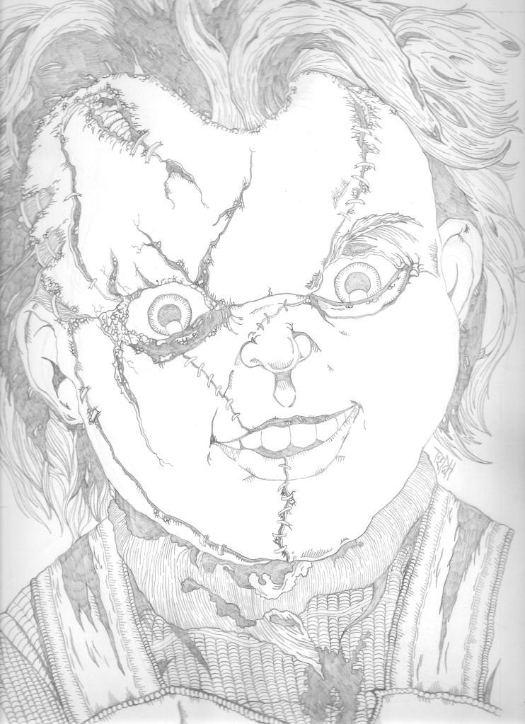 Chucky Pencils