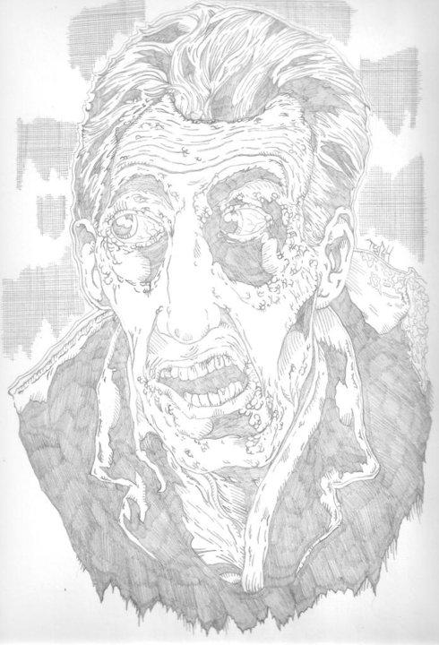 Night Of The Living Dead 1968 Pencils