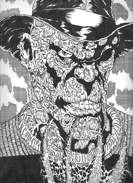 Nightmare On Elmstreet(Inks)