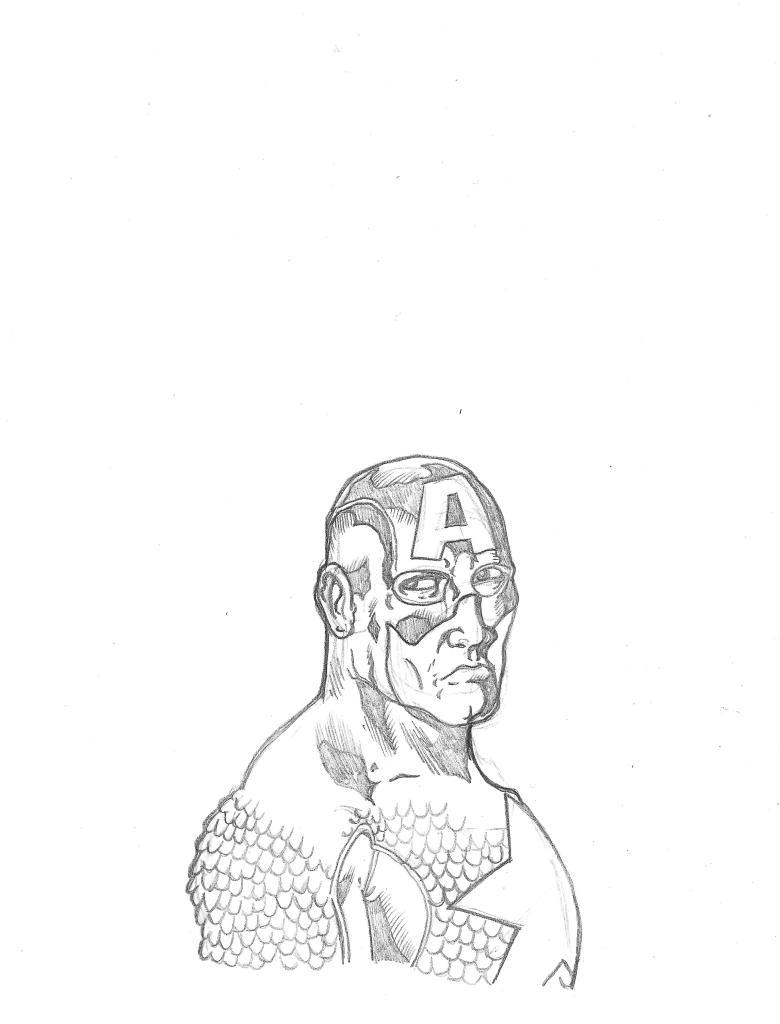 Capt' America Sketch