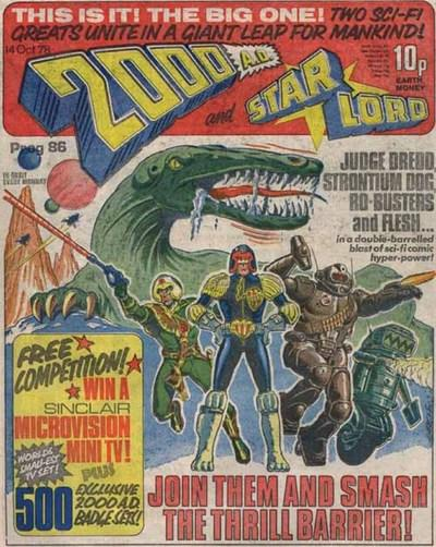 The first merged issue of 2000AD and Starlord