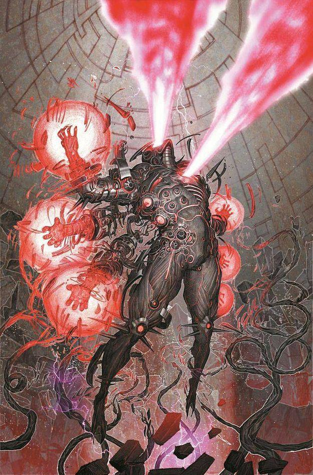 Note: This is not Vulcan's true form, but rather a suit of armor he possesses for warfare