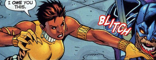 Vixen feels like she'd be a solid team-player. Very versatile powerset and appears to be the type to take charge when the situation calls for. Individuals like her seem a great fit for a team with people I think compliment each other well, like my Justice League.