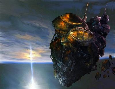 Asteroid M in Orbit