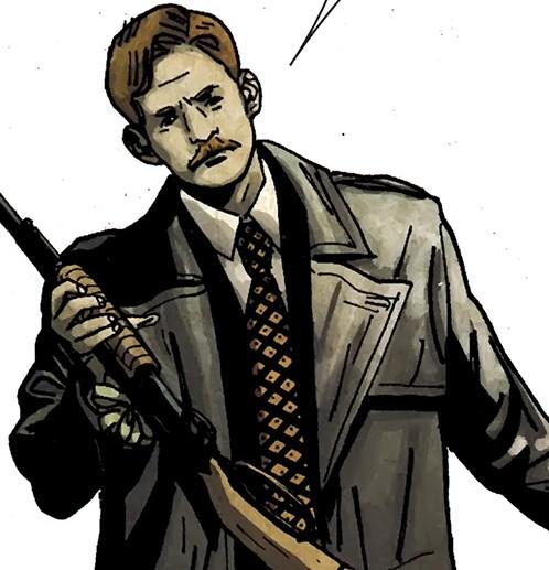 Detective Martin Soap in Punisher Noir