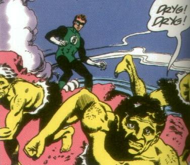 Hal Jordan and the Calorians